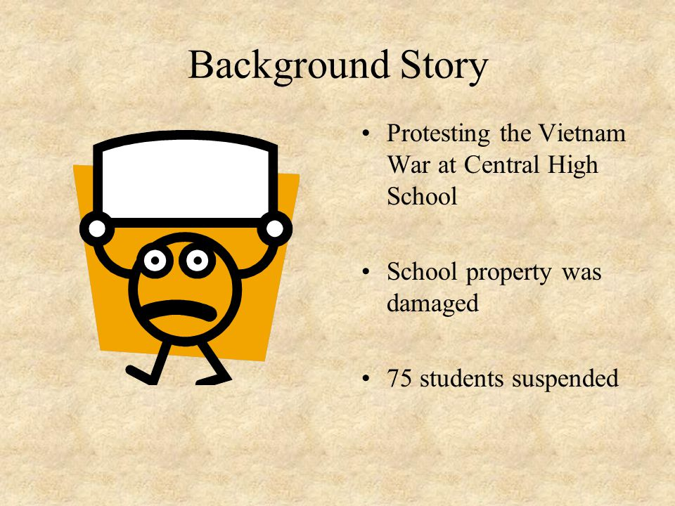 Background Story Protesting the Vietnam War at Central High School