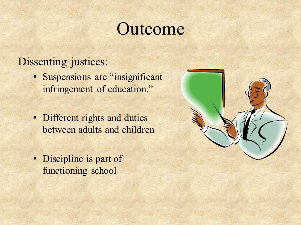 Outcome Dissenting justices: