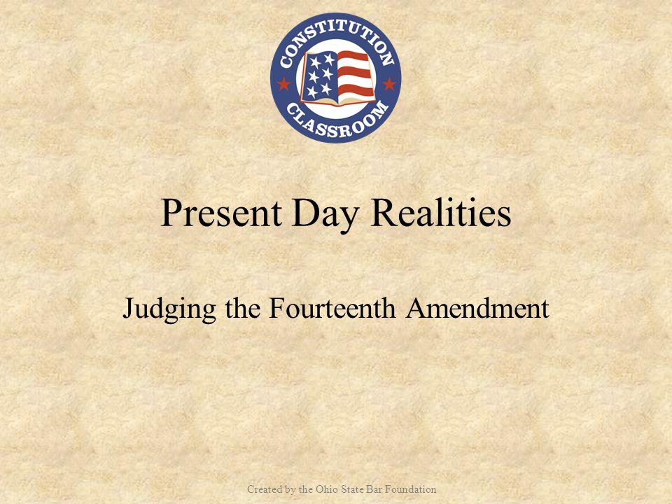 Judging the Fourteenth Amendment
