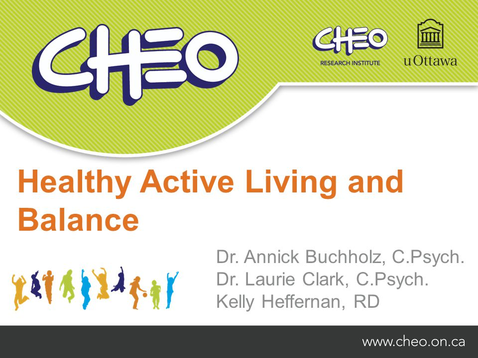 Healthy Active Living and Balance