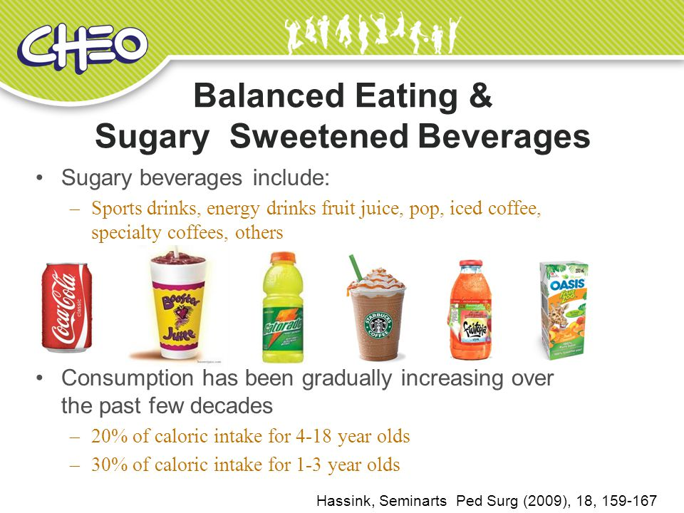 Balanced Eating & Sugary Sweetened Beverages