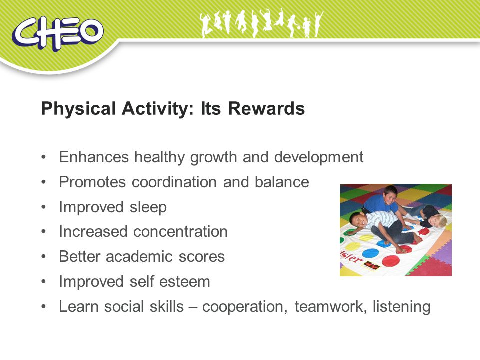 Physical Activity: Its Rewards