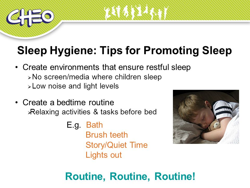 Sleep Hygiene: Tips for Promoting Sleep