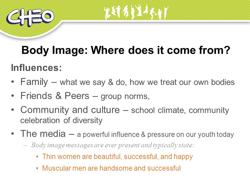 Body Image: Where does it come from