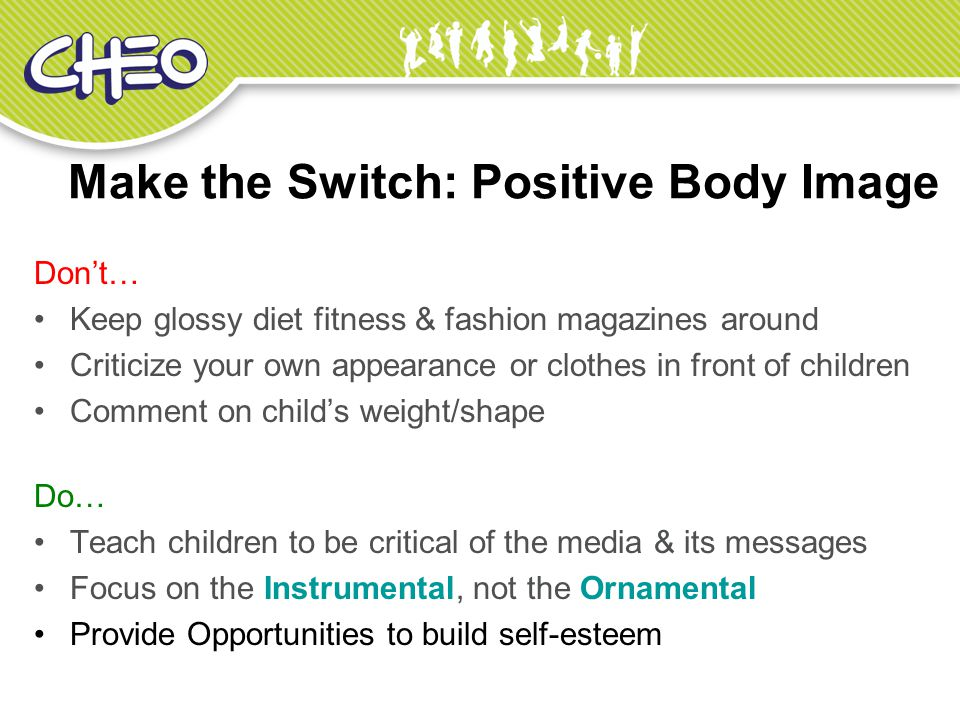 Make the Switch: Positive Body Image