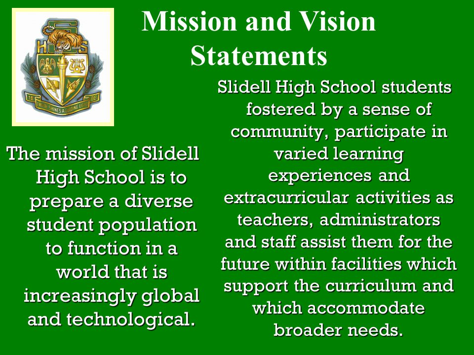 Mission and Vision Statements