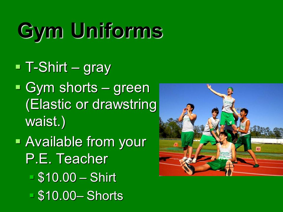 Gym Uniforms T-Shirt – gray