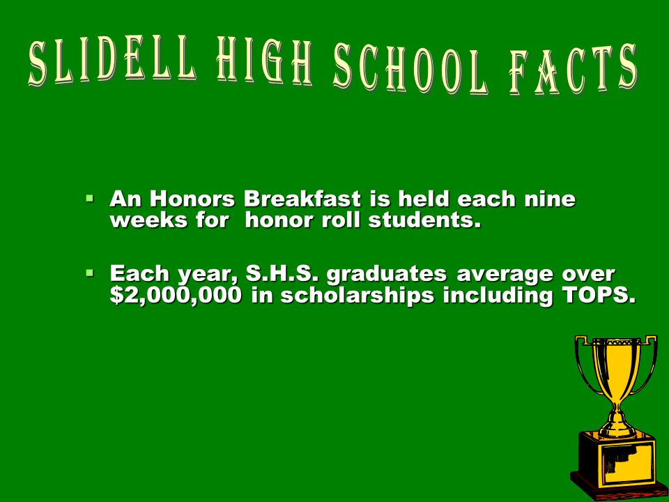 Slidell High School Facts