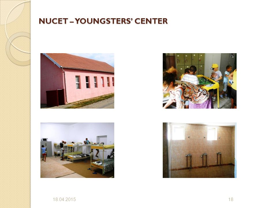 NUCET – YOUNGSTERS' CENTER