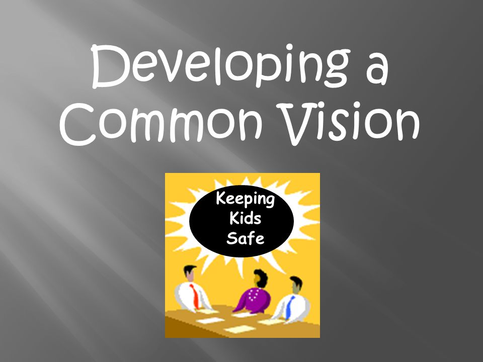 Developing a Common Vision