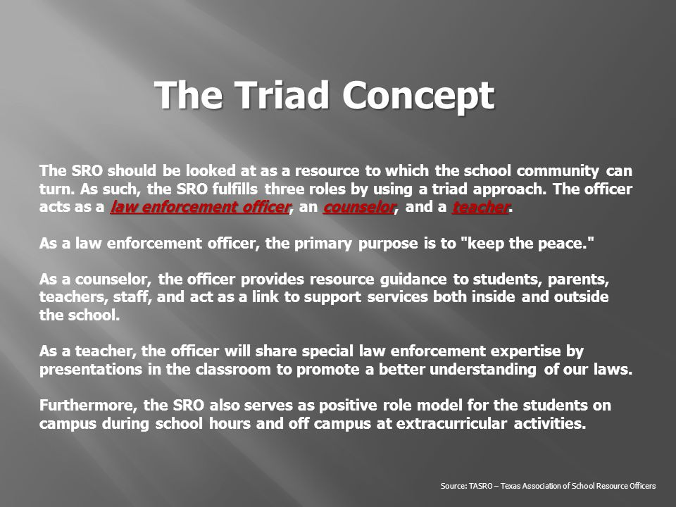 The Triad Concept