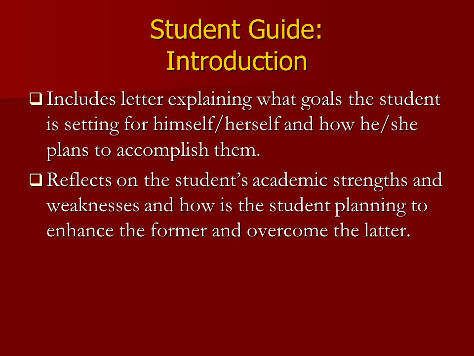 Student Guide: Introduction
