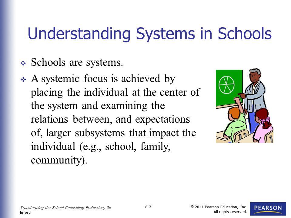 Understanding Systems in Schools