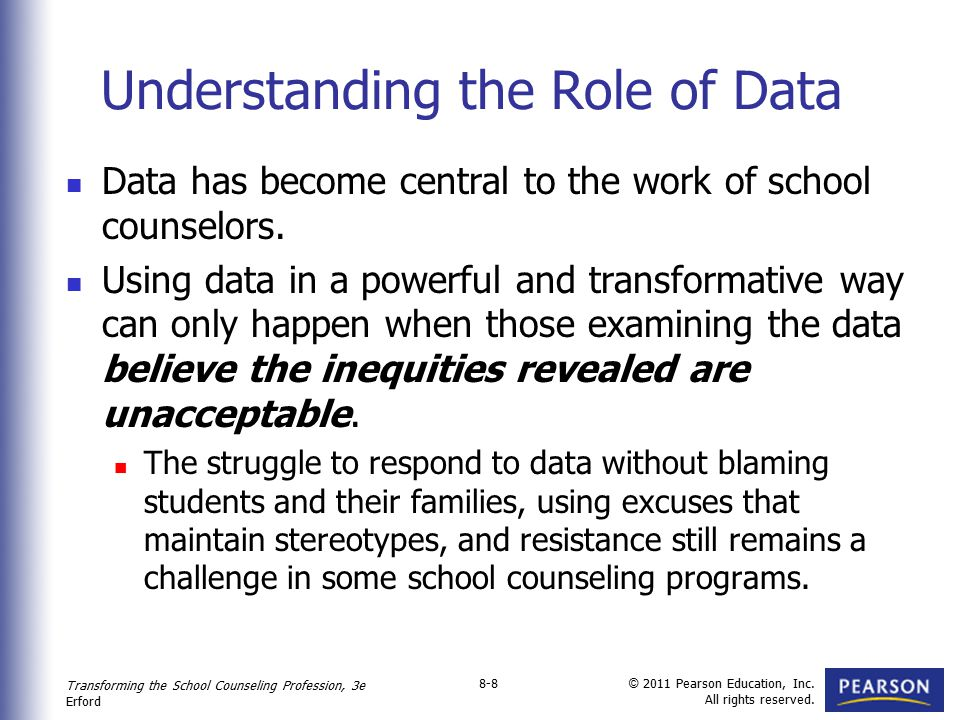 Understanding the Role of Data
