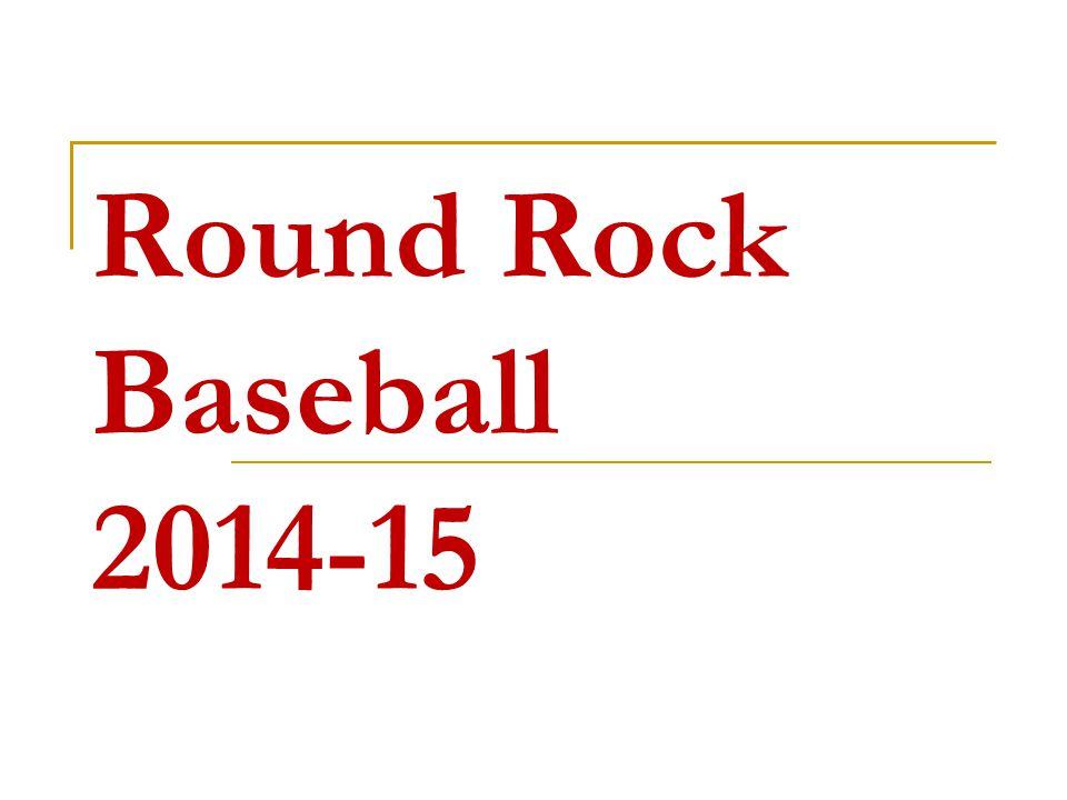 Round Rock Baseball 2014-15