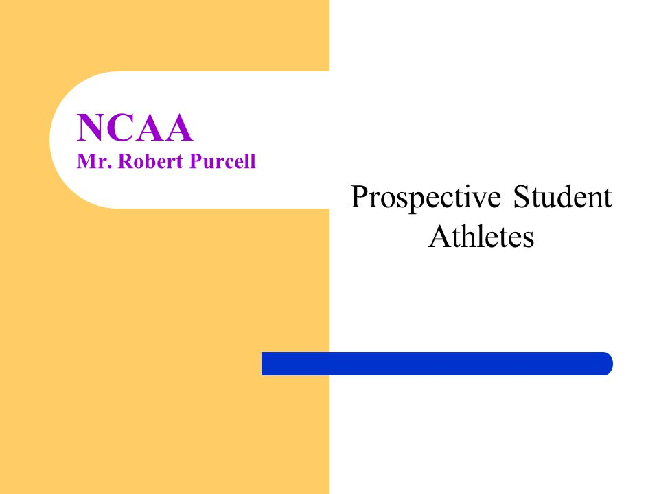 Prospective Student Athletes