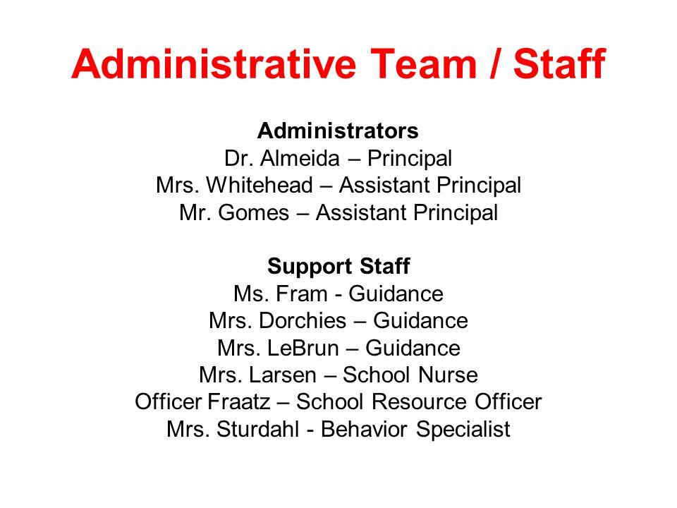 Administrative Team / Staff