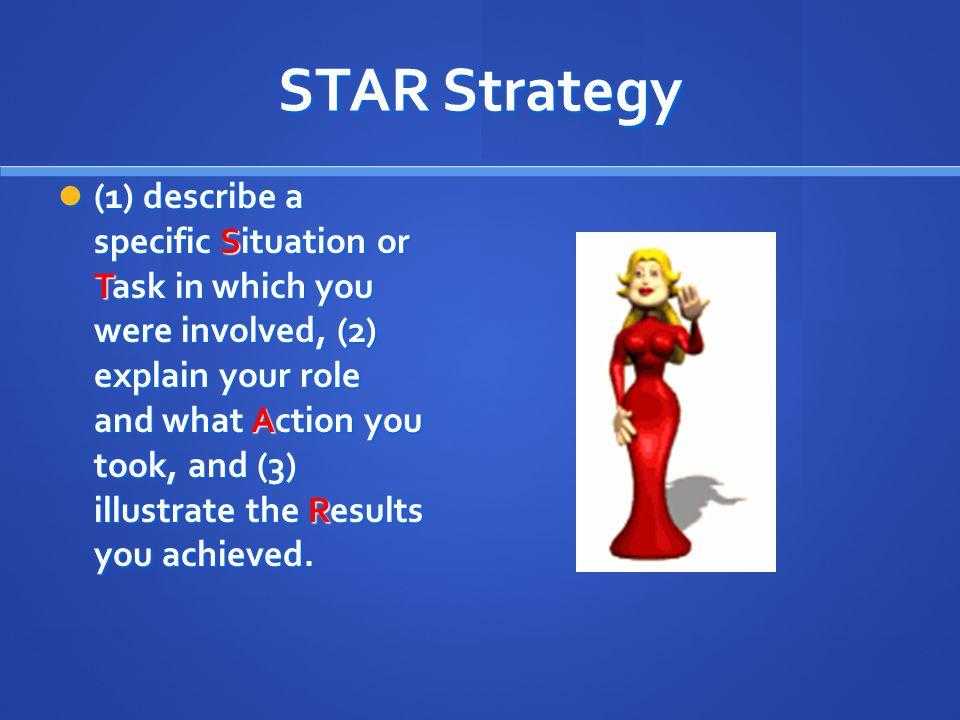 STAR Strategy