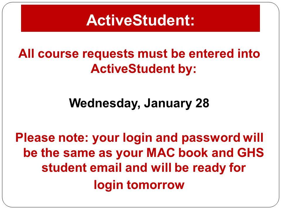 ActiveStudent: