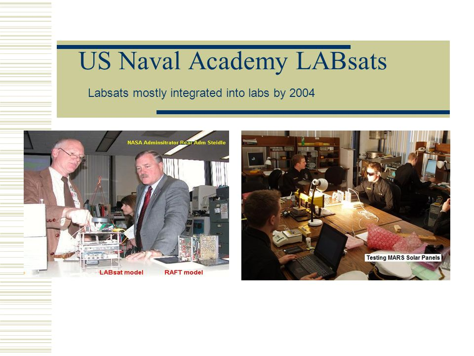 US Naval Academy LABsats