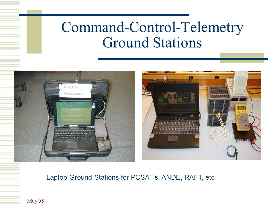 Command-Control-Telemetry Ground Stations