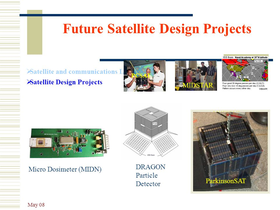 Future Satellite Design Projects