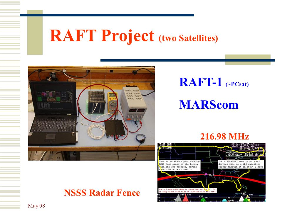 RAFT Project (two Satellites)