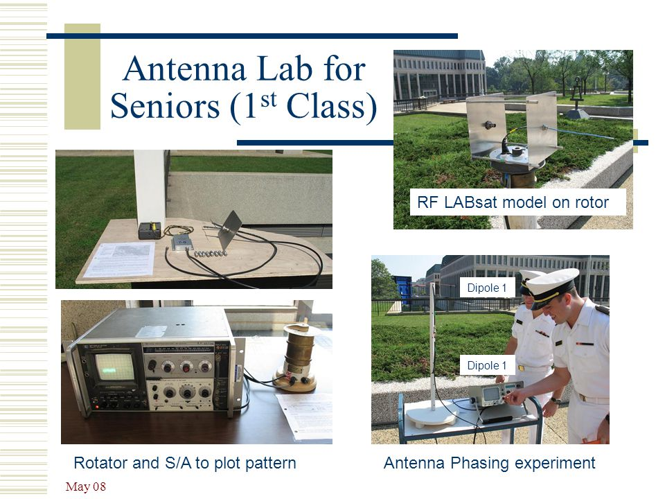 Antenna Lab for Seniors (1st Class)
