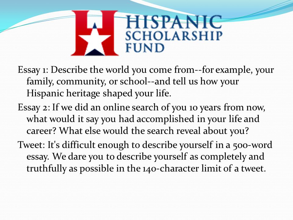 Scholarships for Hispanic and Latino Students