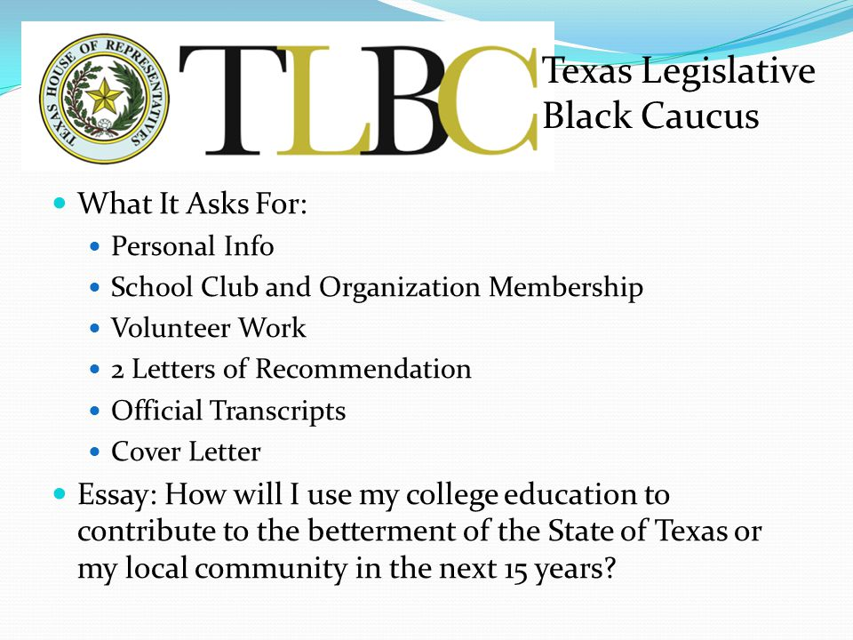 Texas Legislative Black Caucus