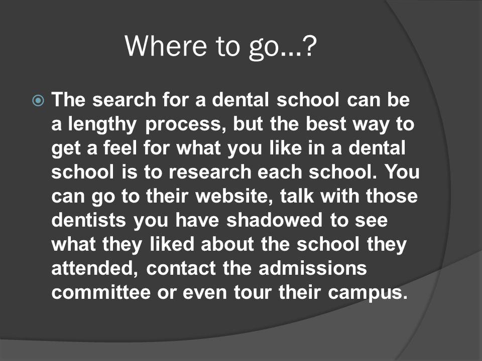 Where to go…