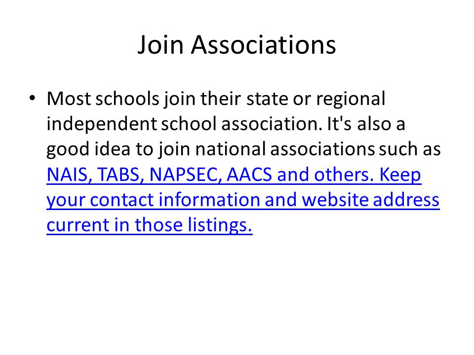Join Associations