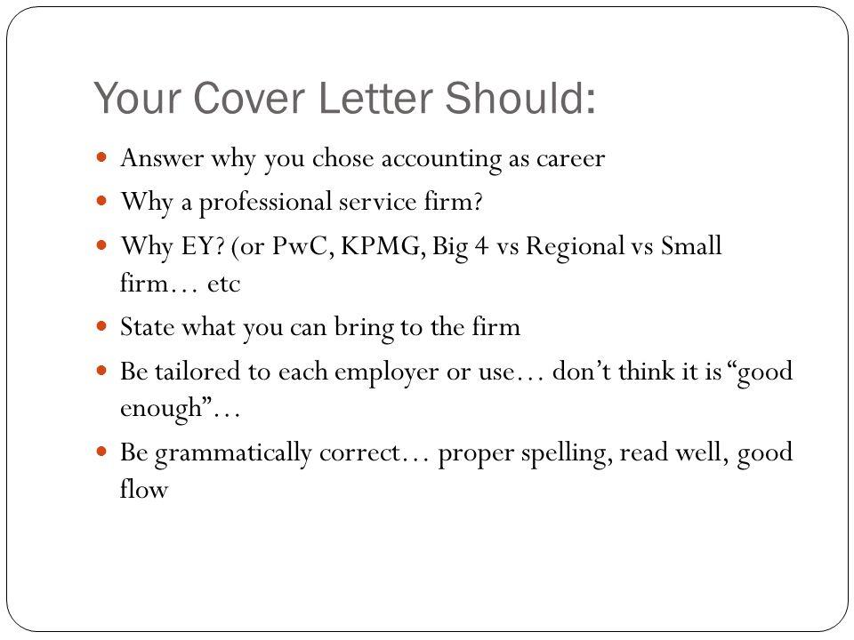 Big 4 Cover Letter Reddit
