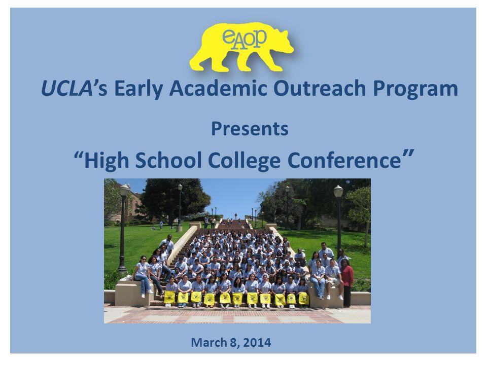 UCLA's Early Academic Outreach Program