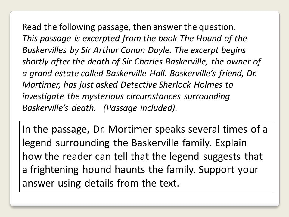 Read the following passage, then answer the question.