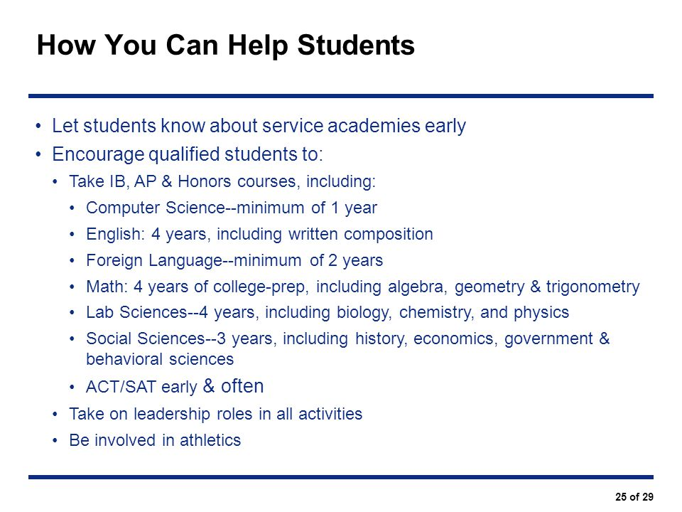 How You Can Help Students