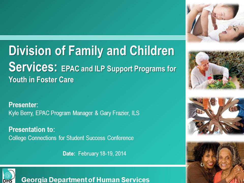 Division of Family and Children Services: EPAC and ILP Support Programs for Youth in Foster Care