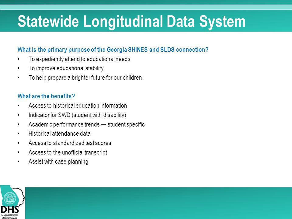 Statewide Longitudinal Data System