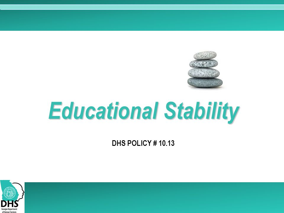 Educational Stability