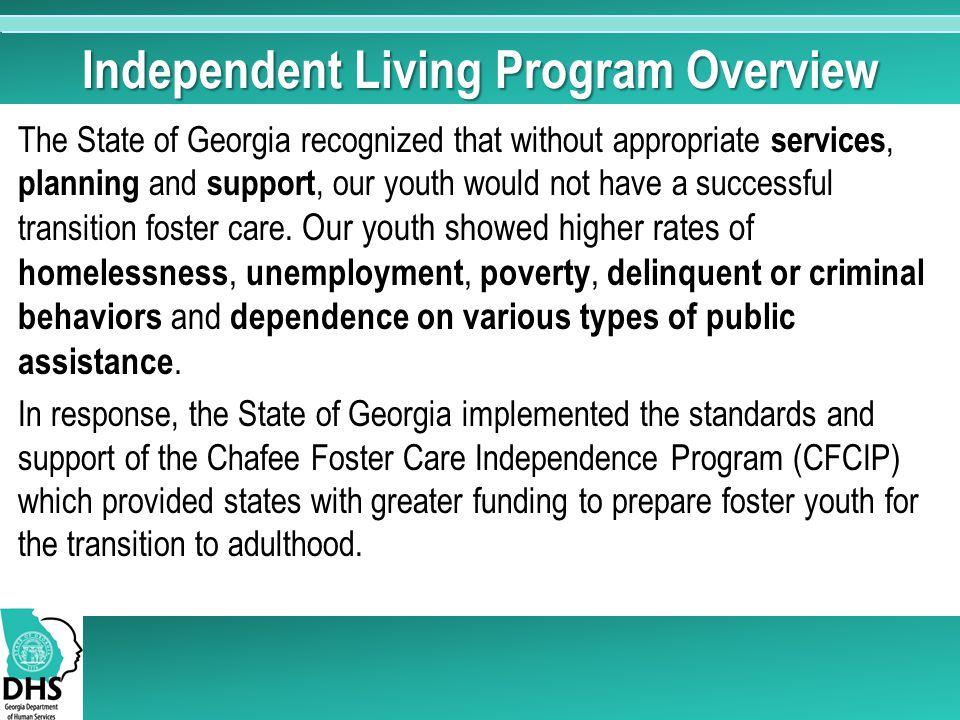 Independent Living Program Overview