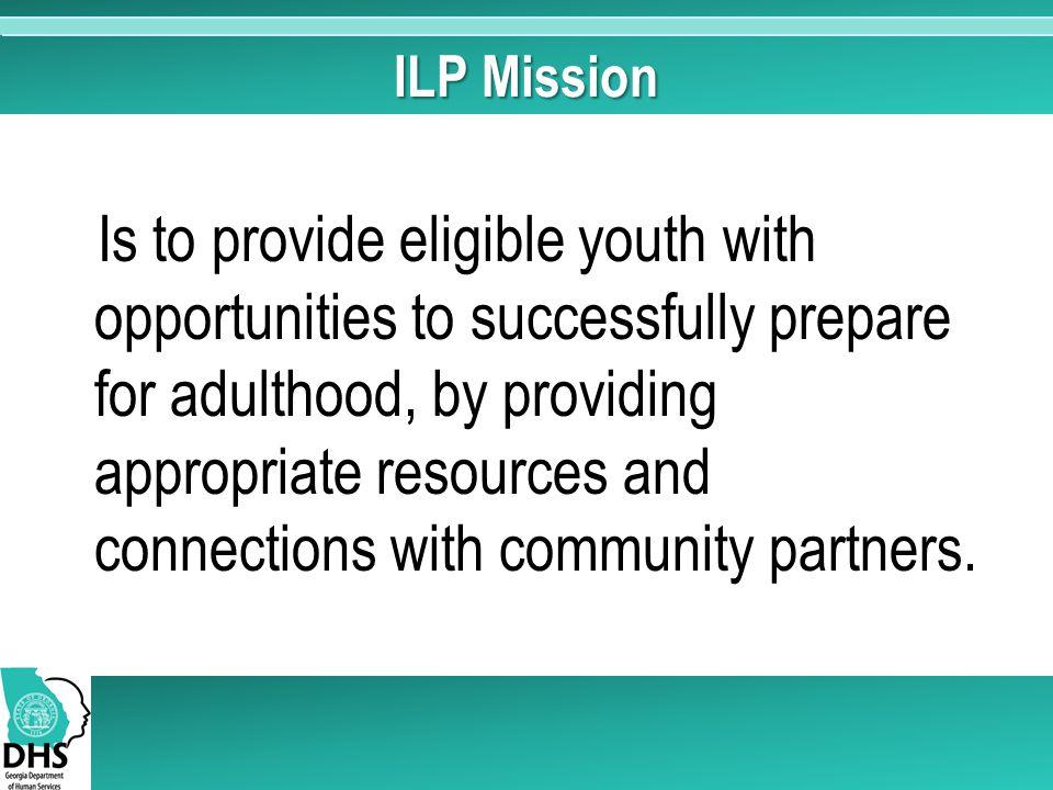 ILP Mission