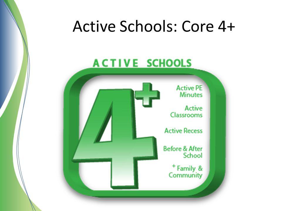 Active Schools: Core 4+