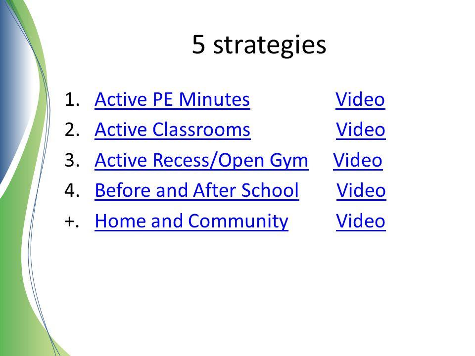 5 strategies