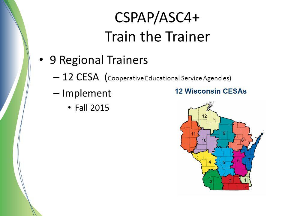CSPAP/ASC4+ Train the Trainer