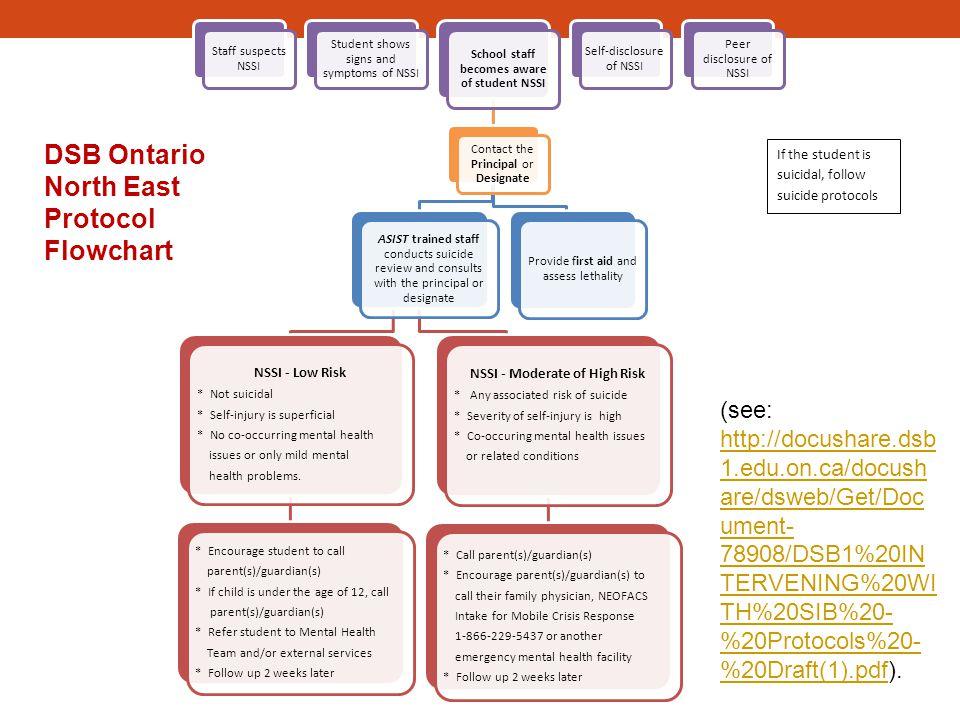 DSB Ontario North East Protocol Flowchart
