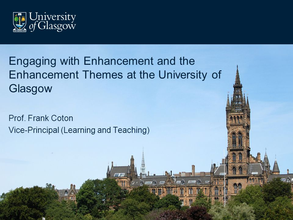 Glasgow university learning and teaching strategy