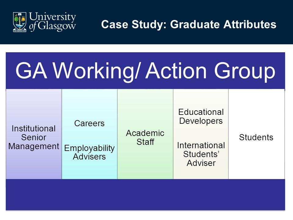 Case Study: Graduate Attributes