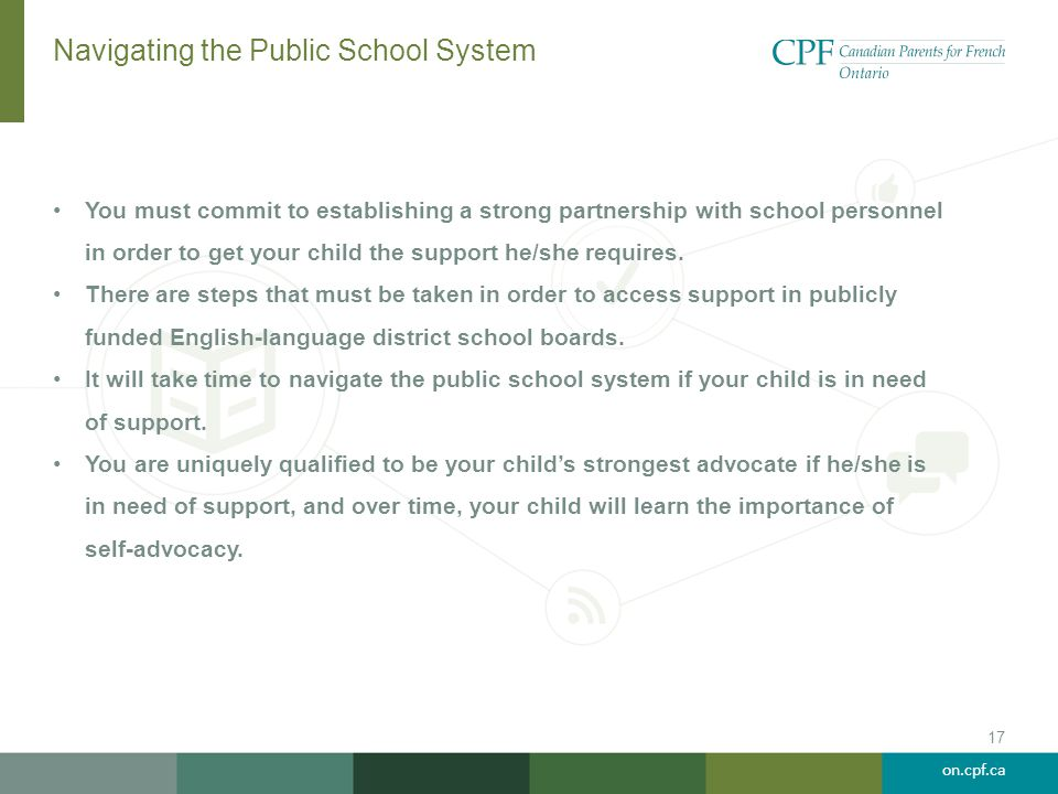 Navigating the Public School System
