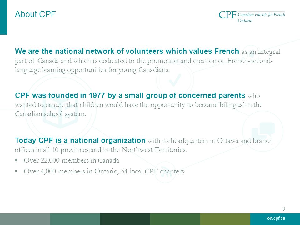 About CPF