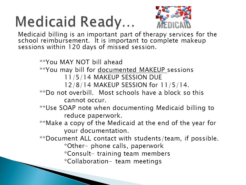 Medicaid Ready…